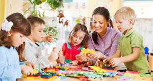 Дети в детском саду