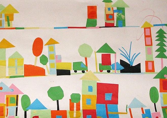 обсудить, картинки города будущего из геометрических фигур некоторых районах